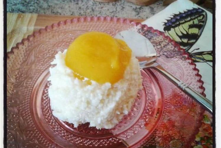 Dôme coco mangue