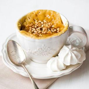 mug cakes au yaourt caramélisé