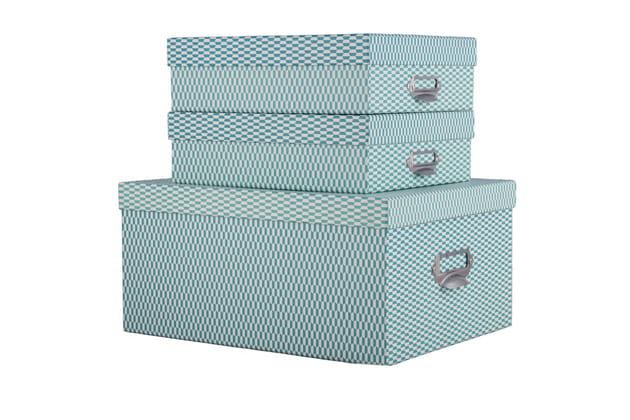 Set de 3 boîtes Motif Bookspar Bakker Made With Love Accessoires