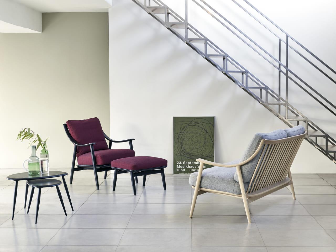 19 fauteuils et canapés à structure apparente