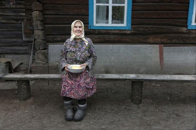 Anna, habitante de Kopachi