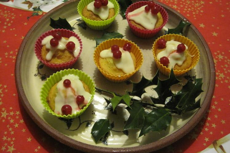 Cupcakes à l'orange et aux groseilles