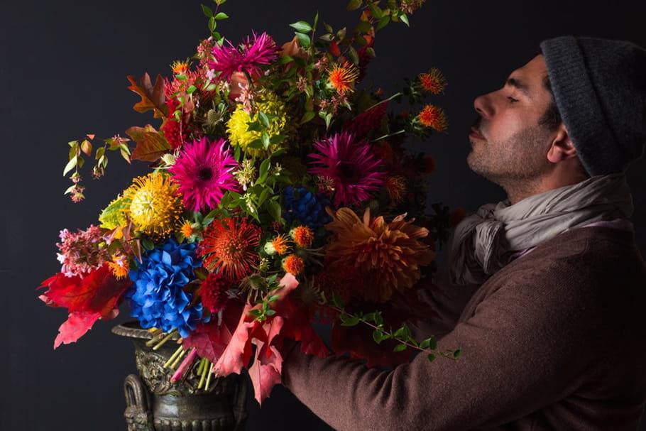 Derrière la porte... du fleuriste Majid