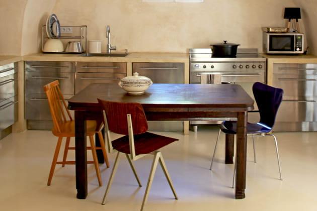 Du bois dans une maison provençale