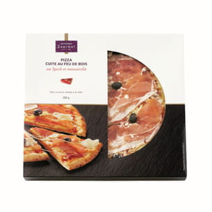 pizza cuite au feu de bois de monoprix gourmet