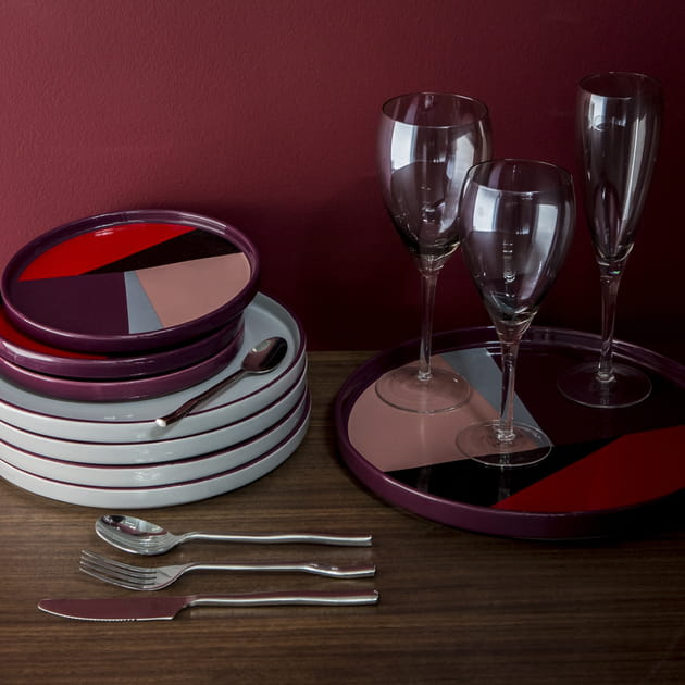 Vaisselle Ready For Red de La Redoute Intérieurs
