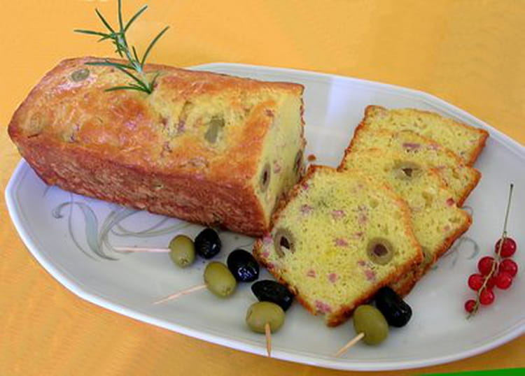 Cake Aux Olives Jambon Fromage