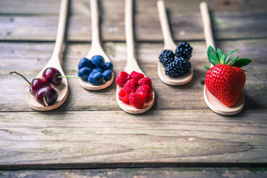 Les calories dans les fruits