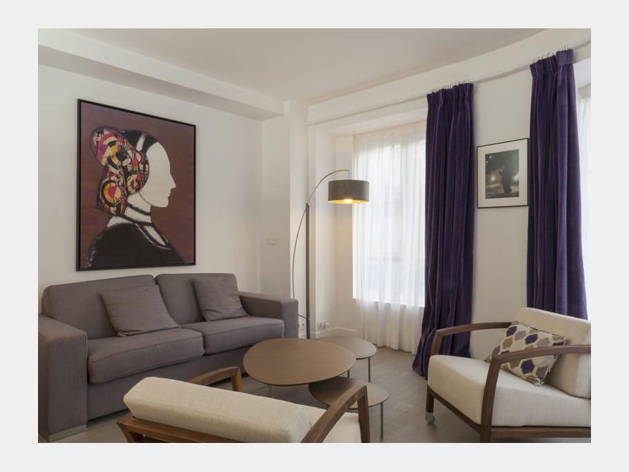 Avant Apr S Un Studio Parisien Aux Belles Courbes