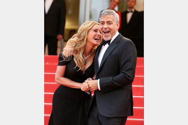 Julia Roberts et George Clooney se fendent la poire