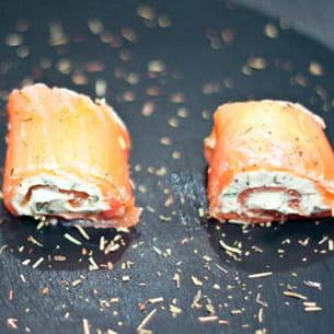 zakouskis au saumon