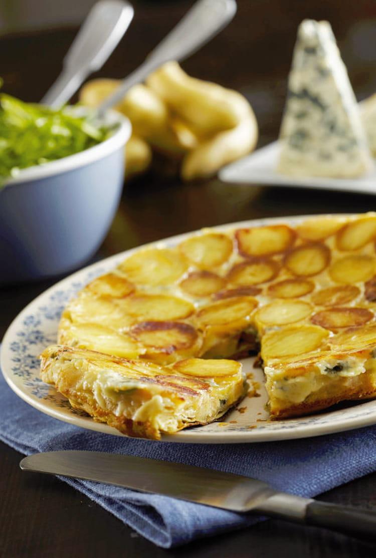 Recette de tarte tatin de ratte du touquet au bresse bleu la recette facile - Cuisiner la ratte du touquet ...