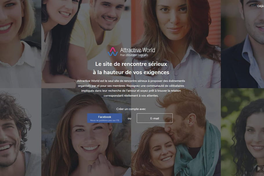 Attractive World : une alternative aux autres sites de rencontre ?