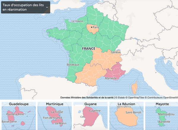 carte-covid-taux-occupation-france