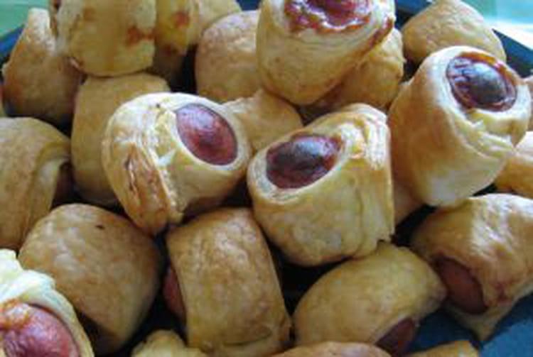 Recette de feuillet s aux saucisses la recette facile - Cuisiner des saucisses ...
