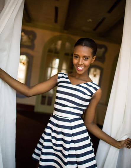 Miss Tanzanie : Lorraine Marriot