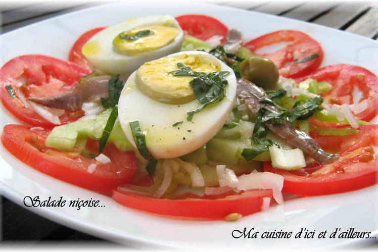 Salade estivale façon niçoise