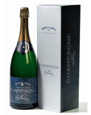 magnum de champagne de comtesse du barry