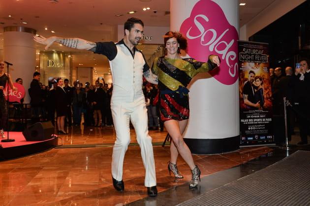 Fauve Hautot ouvre la danse des soldes aux Galeries Lafayette