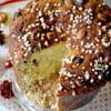 panettone aux fruits confits saveur amaretto