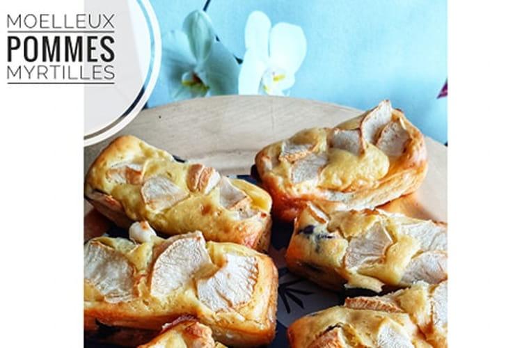 Moelleux Healthy Pommes Myrtilles