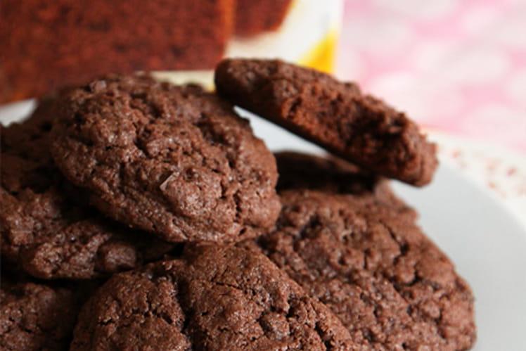 Double mix cookies et gâteau au chocolat