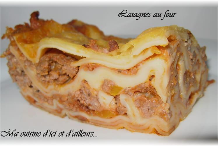 Lasagnes au four
