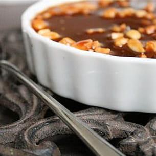 tartelettes au cheesecake sur un air de snickers