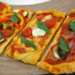 10 pizza tri colore 100