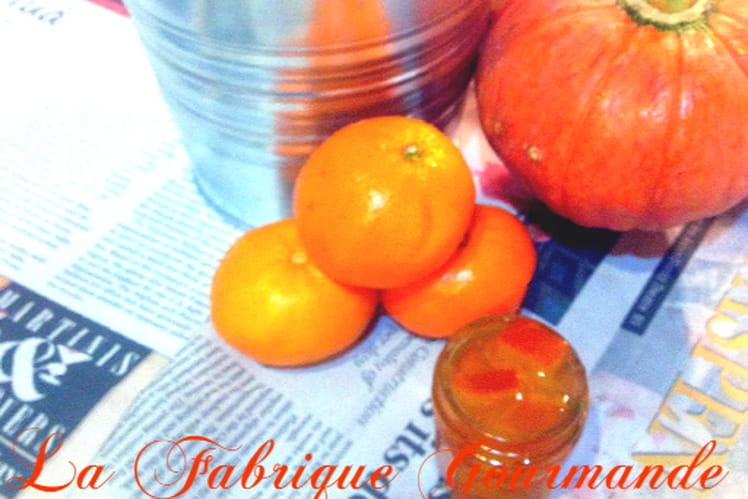 Beignets de potiron aux zestes et marmelade de clémentines