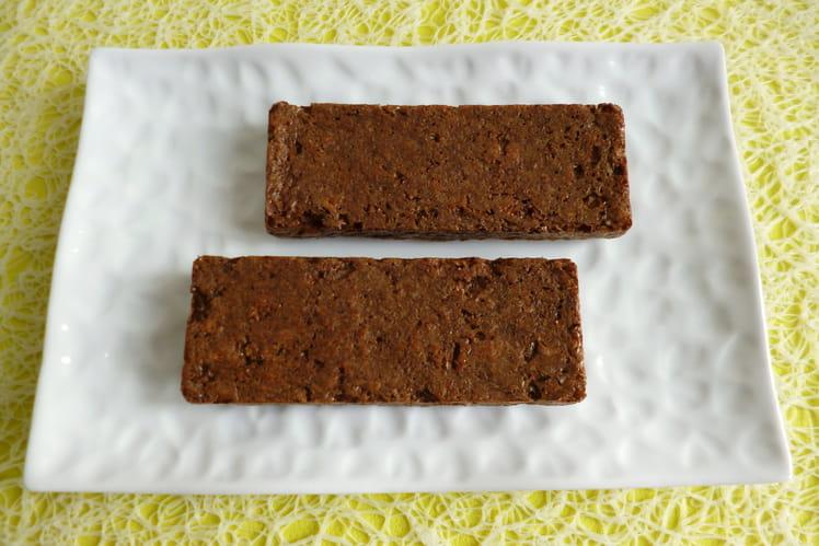 Barres de céréales diététiques hyperprotéinées moelleuses à l'orge torréfiée Yorzo et au psyllium