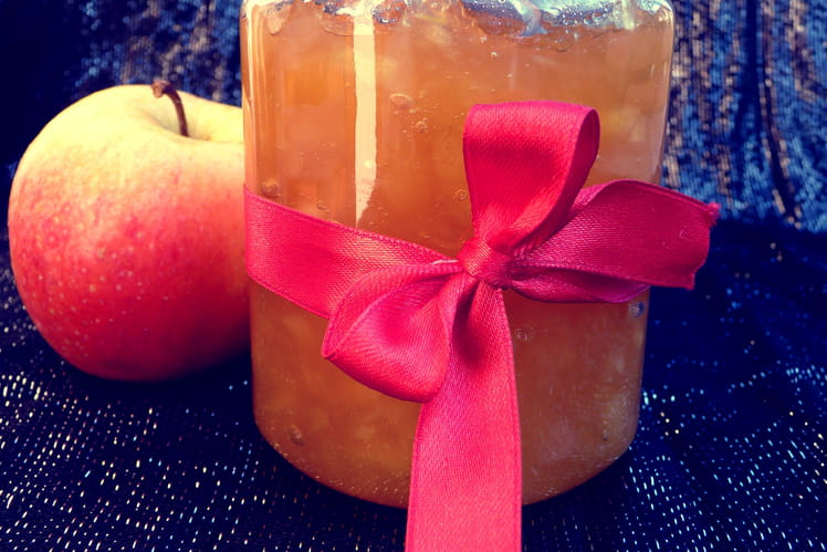 Confiture pomme/gingembre