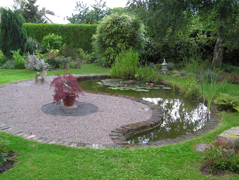 Un jardin inspirant for Jardin yin yang