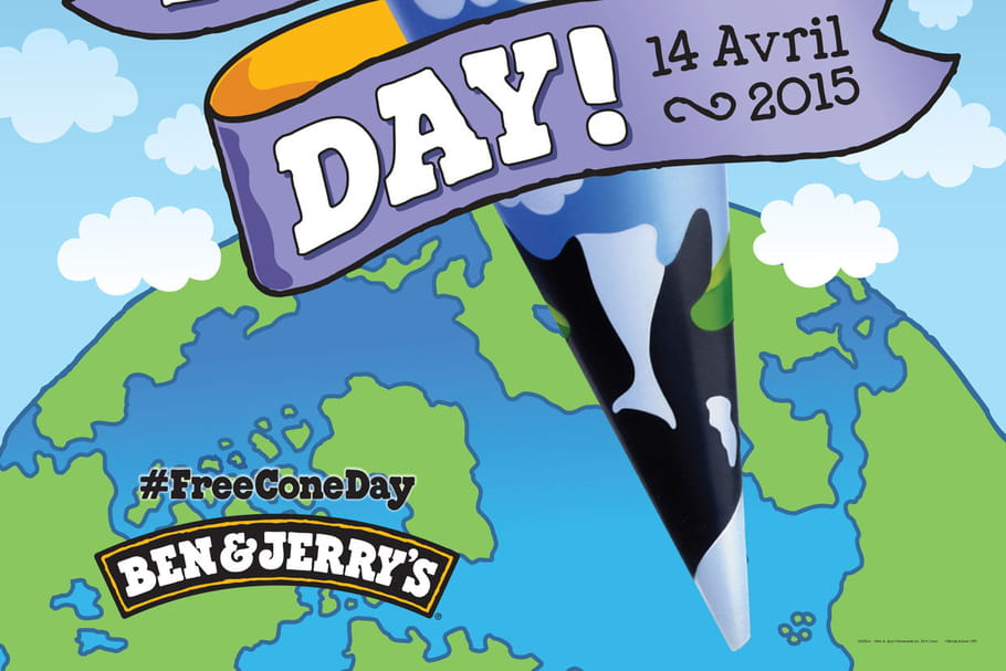 Free Cone Day : Ben & Jerry's paient leur glace