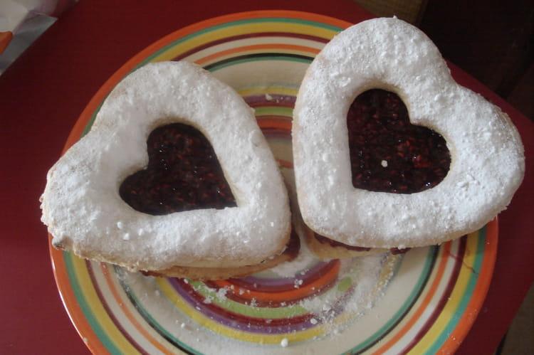 Recette de coeurs d 39 amoureux la recette facile - Coeurs amoureux ...