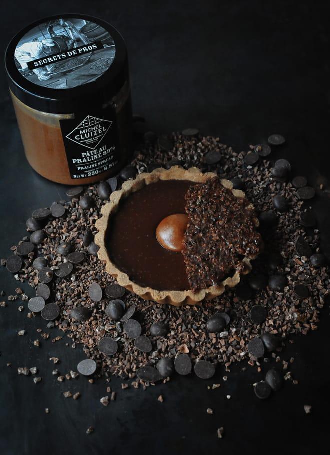 Tarte Choco'maniac de Pâques par les Tartes Cluger et la Manufacture Cluizel
