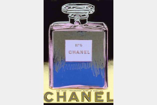 Chanel N°5par Andy Warhol en 1985