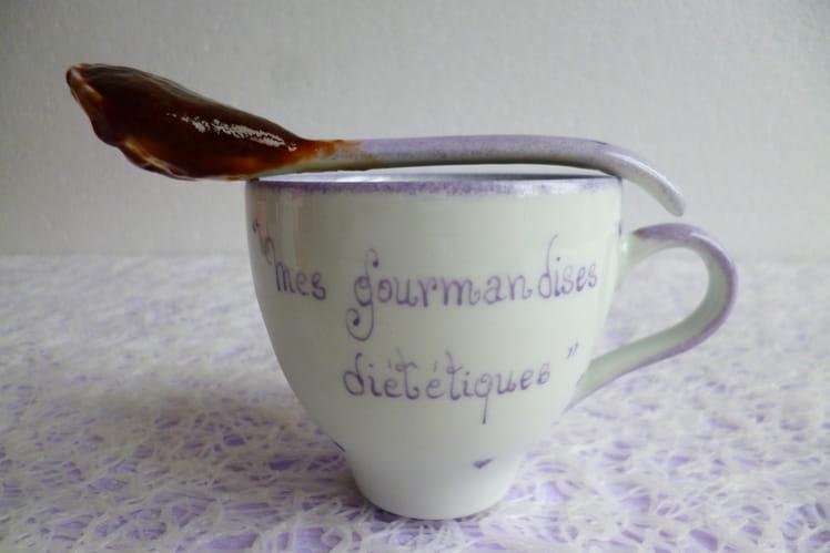 Crème dessert caramel café chicorée végan
