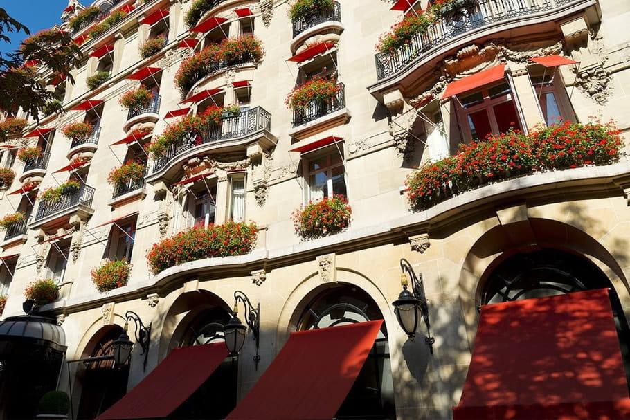 Liste des hôtels d'exception distingués Palace en France