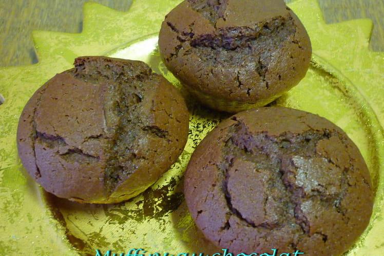 Muffins au chocolat inratables