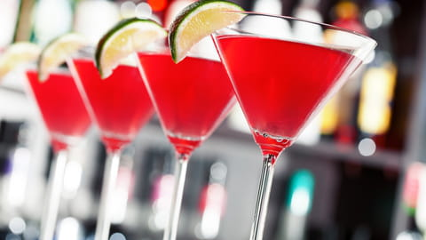 Comment faire joli cocktail coloré