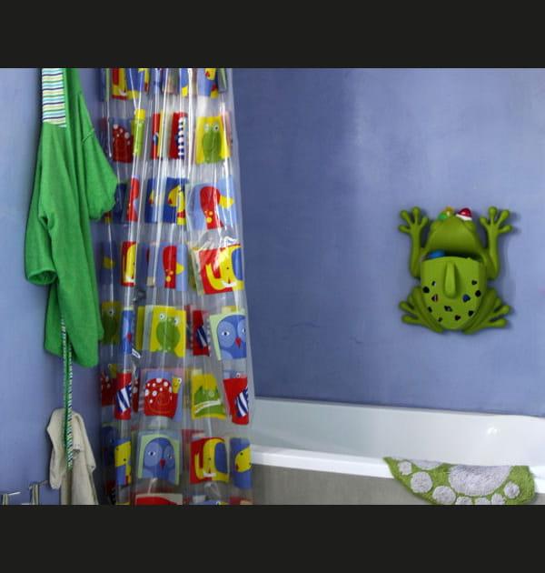 Rideau de douche en plastique ou tissu