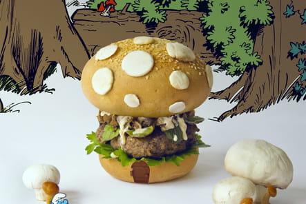 Schtroumpf Burger