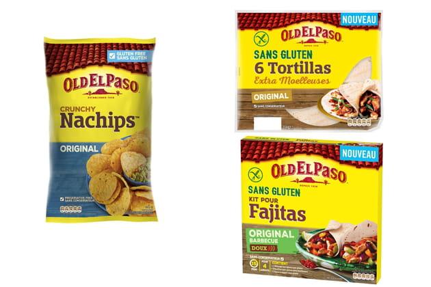La gamme sans gluten d'Old El Paso