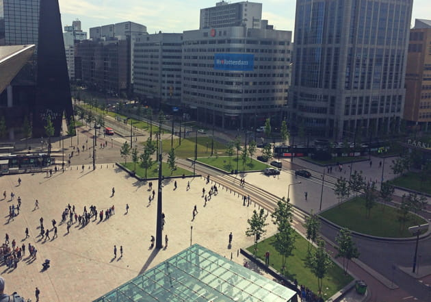 Quartier de la gare Rotterdam Centraal Station