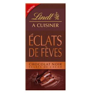 chocolat noir éclats de cacao de lindt