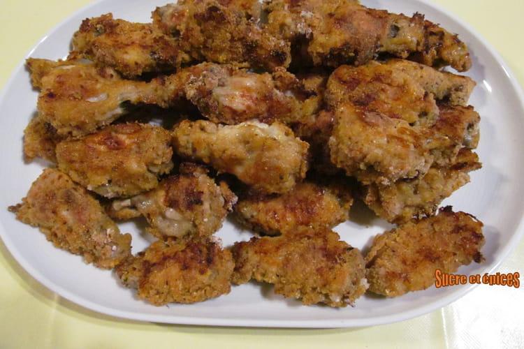 Ailes de poulet façon KFC au four