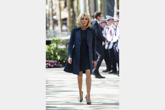 Brigitte Macron le 20avril 2018