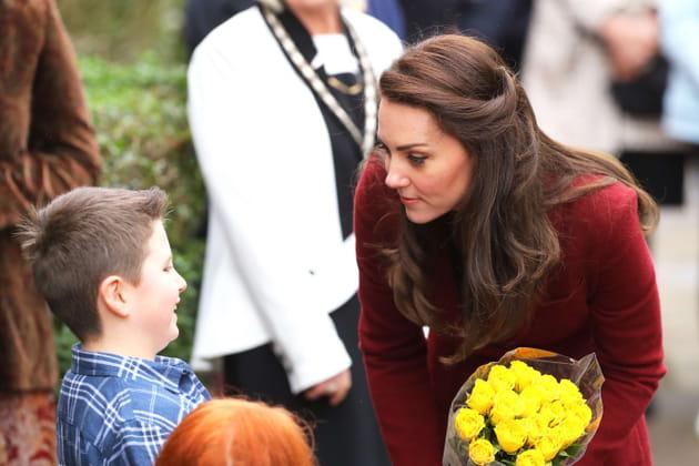 Kate Middleton: les mèches torsadées