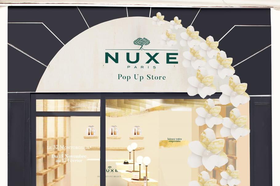 Nuxe célèbre la beauté avec son tout premier pop-up store